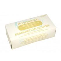 LATEX Powdered Gloves - Carton